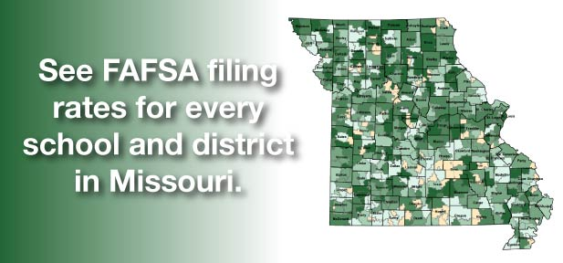 See FAFSA filing rates for every school and district in Missouri