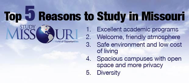 Top 5 Reasons to Study in Missouri