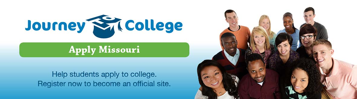 Journey to College Apply Missouri - Help students apply to college.