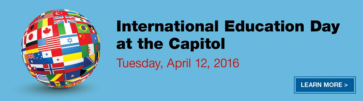 International Education Day at the Capitol, Tuesday, March 31