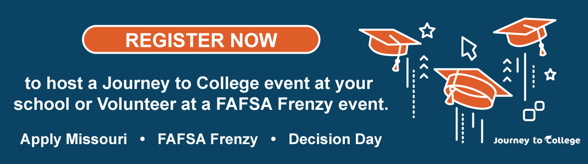 Register now to host a journey to college event at your school