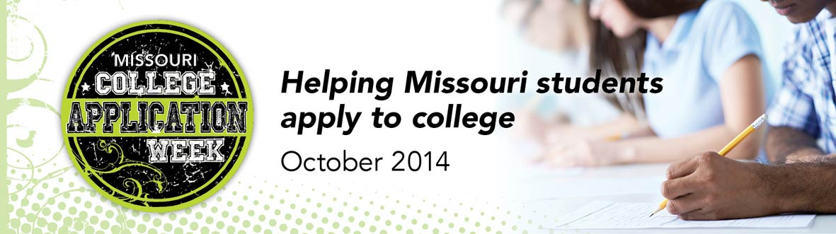 Missouri College Application week - Helping Missouri students apply to college