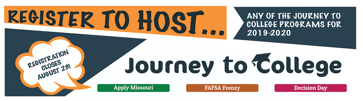 Register to host a Journey to College Program