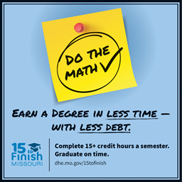Earn a degree in less time - with less debt