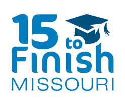 15 to finish missouri logo